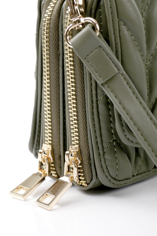 meliebiancoのGiselle(Moss)ブレイドキルティング・ミニショルダーバッグ/海外ファッション好きにオススメのインポートバッグとかばん、MelieBianco(メリービアンコ)のバッグやショルダーバッグ。編み込み状のキルティングレザーが美しいショルダーバッグ。ソフトで滑らかなビーガンレザーのキルティングはしっとりと最高の手触り。/main-9