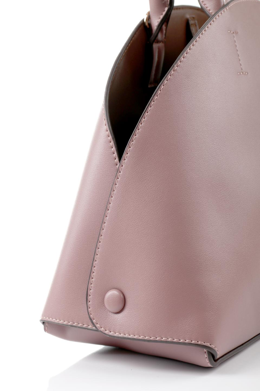 meliebiancoのAusten(Rose)ポーチ付き・ラウンドハンドバッグ/海外ファッション好きにオススメのインポートバッグとかばん、MelieBianco(メリービアンコ)のバッグやショルダーバッグ。ミニマルデザインのポーチ付きハンドバッグ。シンプルでコーデの邪魔をしない上品な雰囲気を醸し出すアイテムです。/main-8