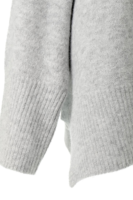 MixedKnitHighNeckPullOverTopミックス柄・ハイネックセーター大人カジュアルに最適な海外ファッションのothers(その他インポートアイテム)のトップスやニット・セーター。もちふわで軽やかなブークレーニットのプルオーバートップス。ドロップショルダーとルーズシルエットが今季らしく抜け感たっぷりな着こなしができます。/main-21