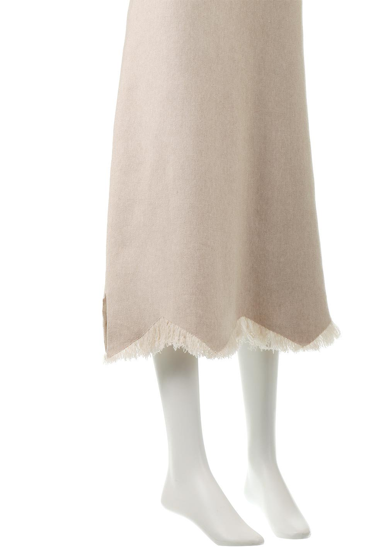 FringeHemKnitLongSkirt裾フリンジ・ニットスカート大人カジュアルに最適な海外ファッションのothers(その他インポートアイテム)のボトムやスカート。裾のフリンジデザインが素敵なニットスカート。フィット&フレアなデザインでIラインを強調して、スタイルアップ効果を引き出してくれます。/main-13