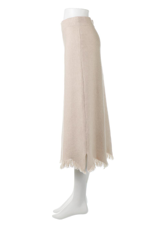 FringeHemKnitLongSkirt裾フリンジ・ニットスカート大人カジュアルに最適な海外ファッションのothers(その他インポートアイテム)のボトムやスカート。裾のフリンジデザインが素敵なニットスカート。フィット&フレアなデザインでIラインを強調して、スタイルアップ効果を引き出してくれます。/main-2