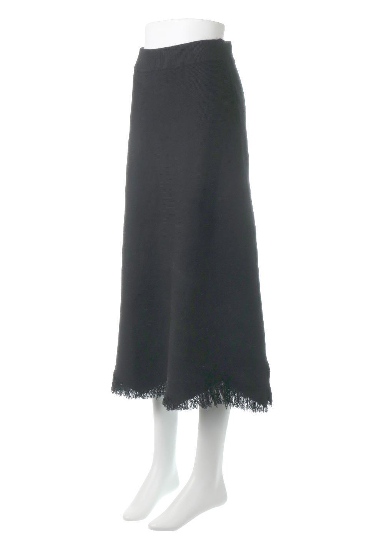 FringeHemKnitLongSkirt裾フリンジ・ニットスカート大人カジュアルに最適な海外ファッションのothers(その他インポートアイテム)のボトムやスカート。裾のフリンジデザインが素敵なニットスカート。フィット&フレアなデザインでIラインを強調して、スタイルアップ効果を引き出してくれます。/main-6