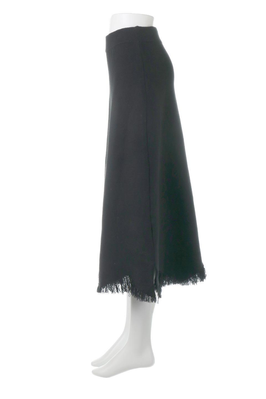 FringeHemKnitLongSkirt裾フリンジ・ニットスカート大人カジュアルに最適な海外ファッションのothers(その他インポートアイテム)のボトムやスカート。裾のフリンジデザインが素敵なニットスカート。フィット&フレアなデザインでIラインを強調して、スタイルアップ効果を引き出してくれます。/main-7