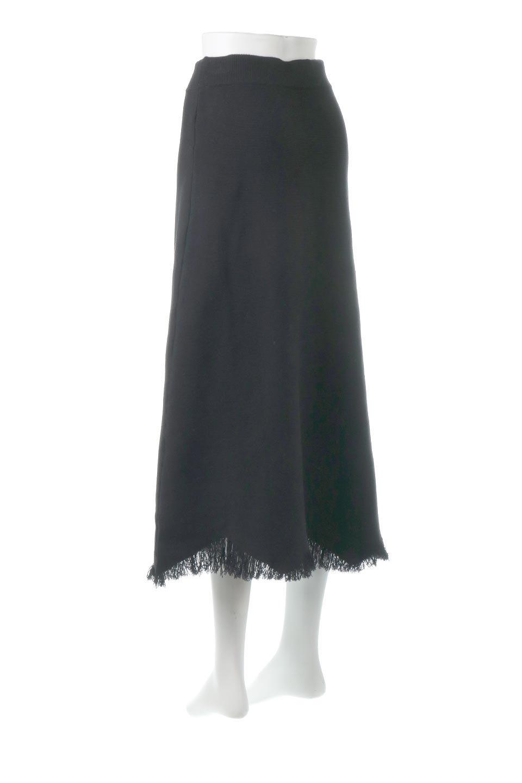 FringeHemKnitLongSkirt裾フリンジ・ニットスカート大人カジュアルに最適な海外ファッションのothers(その他インポートアイテム)のボトムやスカート。裾のフリンジデザインが素敵なニットスカート。フィット&フレアなデザインでIラインを強調して、スタイルアップ効果を引き出してくれます。/main-8