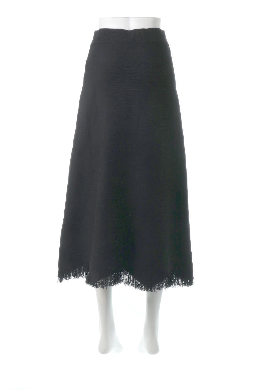 FringeHemKnitLongSkirt裾フリンジ・ニットスカート大人カジュアルに最適な海外ファッションのothers(その他インポートアイテム)のボトムやスカート。裾のフリンジデザインが素敵なニットスカート。フィット&フレアなデザインでIラインを強調して、スタイルアップ効果を引き出してくれます。/main-9