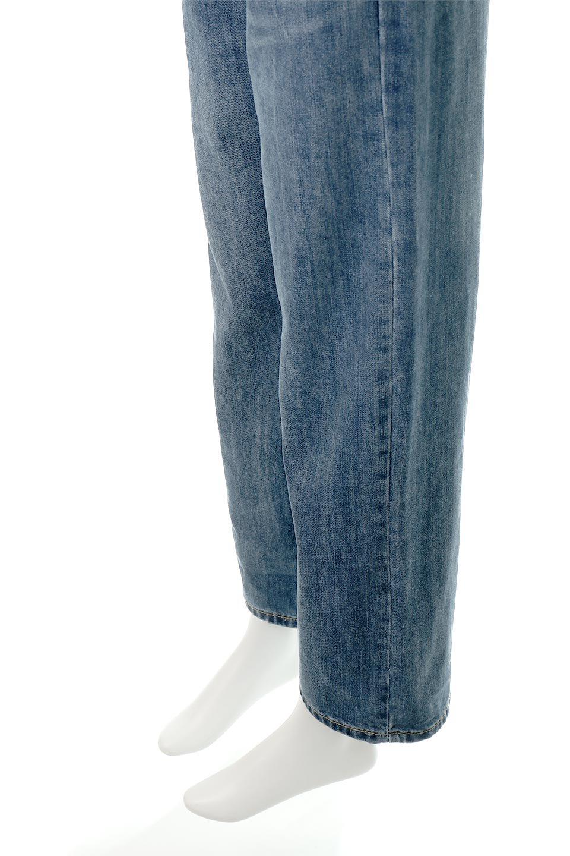 DoubleButtonWideDenimPantsダブルボタン・ワイドデニム大人カジュアルに最適な海外ファッションのothers(その他インポートアイテム)のボトムやパンツ。サイドのボタンで簡単調整できるワイドデニムパンツ。柔らかな生地感が履き心地が良く、しかもコーデにも困らないアイテムです。/main-10