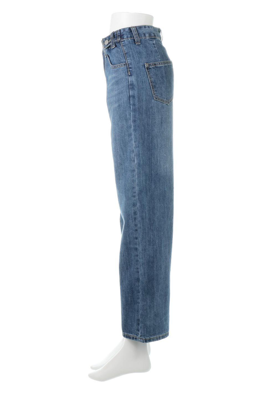 DoubleButtonWideDenimPantsダブルボタン・ワイドデニム大人カジュアルに最適な海外ファッションのothers(その他インポートアイテム)のボトムやパンツ。サイドのボタンで簡単調整できるワイドデニムパンツ。柔らかな生地感が履き心地が良く、しかもコーデにも困らないアイテムです。/main-2