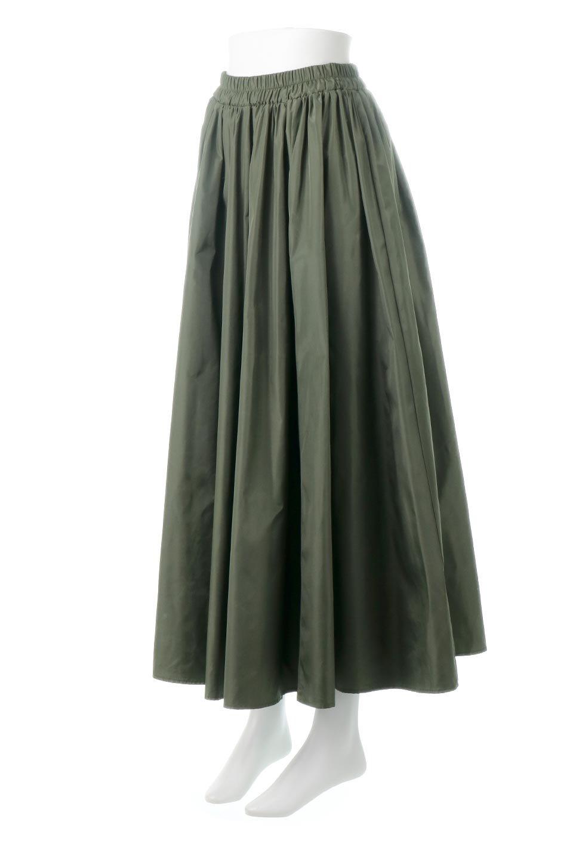 TaffetafabricMaxiFlareSkirtワイドフレア・タフタスカート大人カジュアルに最適な海外ファッションのothers(その他インポートアイテム)のボトムやスカート。上品で控えめな光沢があるタフタ素材を使用したフレアスカート。ウエストから広がるワイドなシルエットで、トップスのボリューム次第で様々な着回しが楽しめます。/main-1