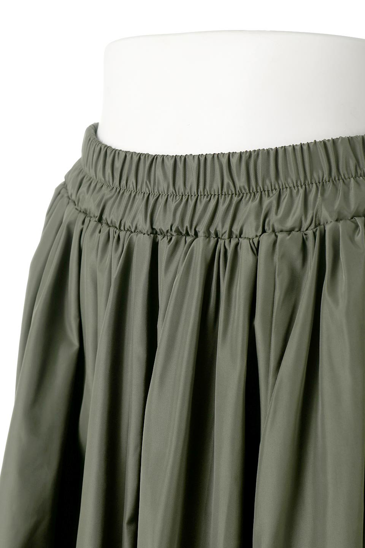 TaffetafabricMaxiFlareSkirtワイドフレア・タフタスカート大人カジュアルに最適な海外ファッションのothers(その他インポートアイテム)のボトムやスカート。上品で控えめな光沢があるタフタ素材を使用したフレアスカート。ウエストから広がるワイドなシルエットで、トップスのボリューム次第で様々な着回しが楽しめます。/main-15