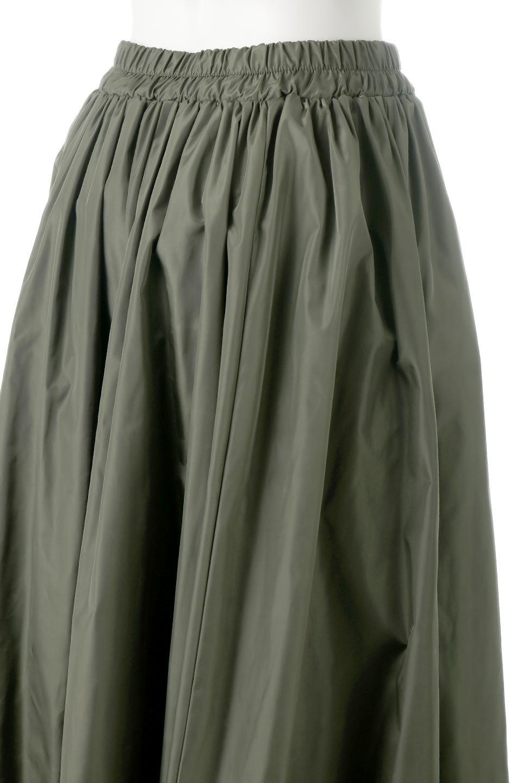 TaffetafabricMaxiFlareSkirtワイドフレア・タフタスカート大人カジュアルに最適な海外ファッションのothers(その他インポートアイテム)のボトムやスカート。上品で控えめな光沢があるタフタ素材を使用したフレアスカート。ウエストから広がるワイドなシルエットで、トップスのボリューム次第で様々な着回しが楽しめます。/main-18