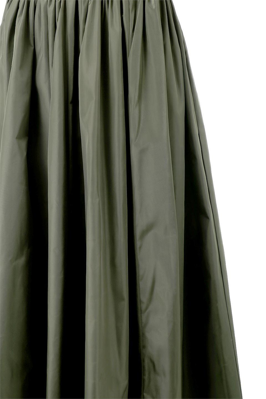 TaffetafabricMaxiFlareSkirtワイドフレア・タフタスカート大人カジュアルに最適な海外ファッションのothers(その他インポートアイテム)のボトムやスカート。上品で控えめな光沢があるタフタ素材を使用したフレアスカート。ウエストから広がるワイドなシルエットで、トップスのボリューム次第で様々な着回しが楽しめます。/main-19