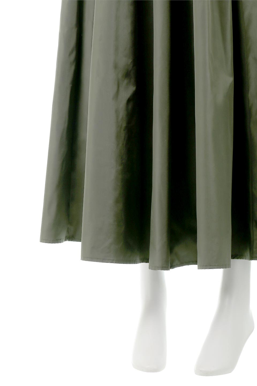 TaffetafabricMaxiFlareSkirtワイドフレア・タフタスカート大人カジュアルに最適な海外ファッションのothers(その他インポートアイテム)のボトムやスカート。上品で控えめな光沢があるタフタ素材を使用したフレアスカート。ウエストから広がるワイドなシルエットで、トップスのボリューム次第で様々な着回しが楽しめます。/main-20
