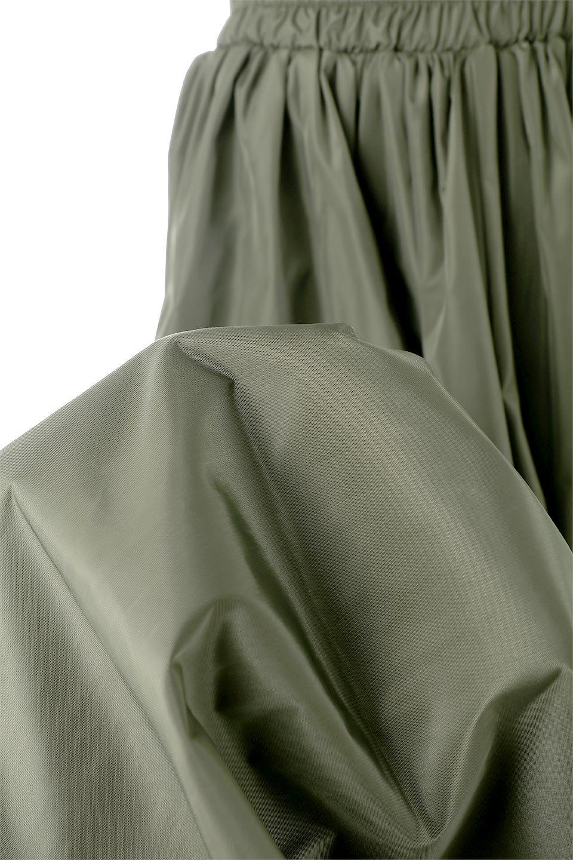 TaffetafabricMaxiFlareSkirtワイドフレア・タフタスカート大人カジュアルに最適な海外ファッションのothers(その他インポートアイテム)のボトムやスカート。上品で控えめな光沢があるタフタ素材を使用したフレアスカート。ウエストから広がるワイドなシルエットで、トップスのボリューム次第で様々な着回しが楽しめます。/main-23