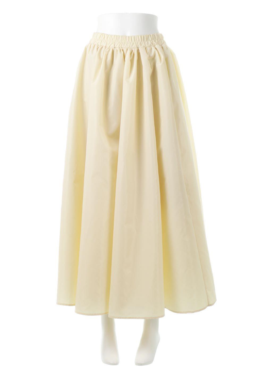 TaffetafabricMaxiFlareSkirtワイドフレア・タフタスカート大人カジュアルに最適な海外ファッションのothers(その他インポートアイテム)のボトムやスカート。上品で控えめな光沢があるタフタ素材を使用したフレアスカート。ウエストから広がるワイドなシルエットで、トップスのボリューム次第で様々な着回しが楽しめます。/main-5