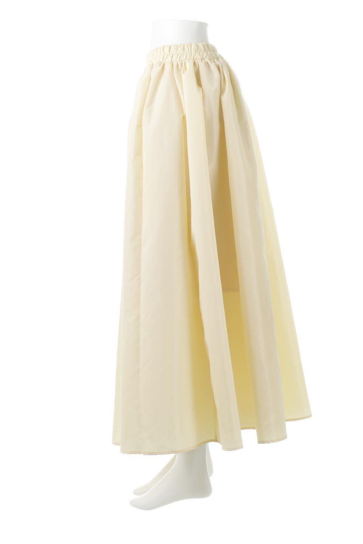 TaffetafabricMaxiFlareSkirtワイドフレア・タフタスカート大人カジュアルに最適な海外ファッションのothers(その他インポートアイテム)のボトムやスカート。上品で控えめな光沢があるタフタ素材を使用したフレアスカート。ウエストから広がるワイドなシルエットで、トップスのボリューム次第で様々な着回しが楽しめます。/main-7
