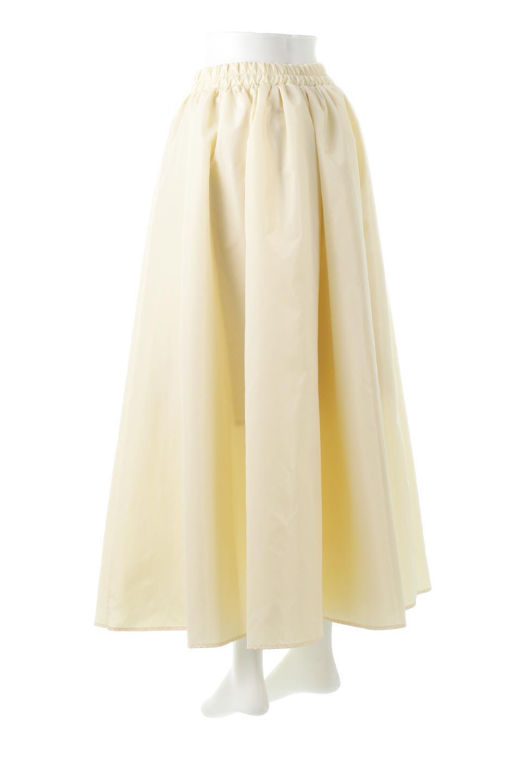TaffetafabricMaxiFlareSkirtワイドフレア・タフタスカート大人カジュアルに最適な海外ファッションのothers(その他インポートアイテム)のボトムやスカート。上品で控えめな光沢があるタフタ素材を使用したフレアスカート。ウエストから広がるワイドなシルエットで、トップスのボリューム次第で様々な着回しが楽しめます。/main-8