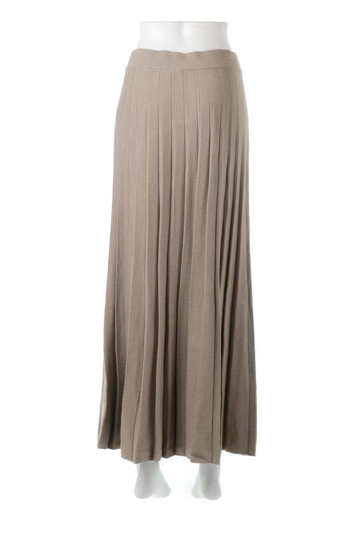 PleatedRibKnitSkirtリブニット・プリーツスカート大人カジュアルに最適な海外ファッションのothers(その他インポートアイテム)のボトムやスカート。清涼感があり、上品な雰囲気なレーヨンナイロンのニットプリーツスカート。リラックス感のあるシルエットで身体にすんなりと馴染んでくれます。/main-4