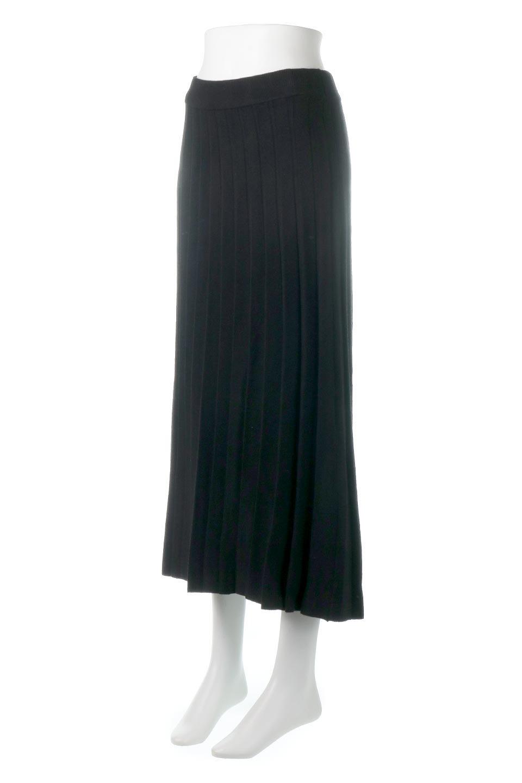 PleatedRibKnitSkirtリブニット・プリーツスカート大人カジュアルに最適な海外ファッションのothers(その他インポートアイテム)のボトムやスカート。清涼感があり、上品な雰囲気なレーヨンナイロンのニットプリーツスカート。リラックス感のあるシルエットで身体にすんなりと馴染んでくれます。/main-6