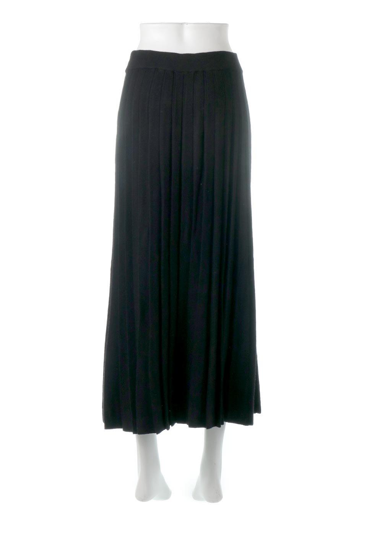 PleatedRibKnitSkirtリブニット・プリーツスカート大人カジュアルに最適な海外ファッションのothers(その他インポートアイテム)のボトムやスカート。清涼感があり、上品な雰囲気なレーヨンナイロンのニットプリーツスカート。リラックス感のあるシルエットで身体にすんなりと馴染んでくれます。/main-9