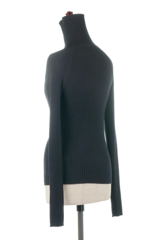 RibKnitTurtleNeckTopリブニット・タートルネック大人カジュアルに最適な海外ファッションのothers(その他インポートアイテム)のトップスやニット・セーター。重ね着に活躍するシンプル・リブタートルニットのトップス。やや長めの袖でクシュッと感が可愛いアイテムです。/main-13