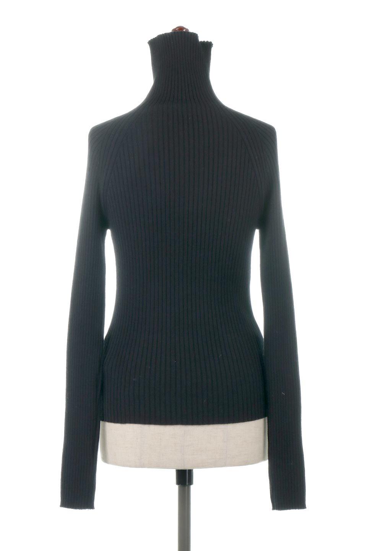 RibKnitTurtleNeckTopリブニット・タートルネック大人カジュアルに最適な海外ファッションのothers(その他インポートアイテム)のトップスやニット・セーター。重ね着に活躍するシンプル・リブタートルニットのトップス。やや長めの袖でクシュッと感が可愛いアイテムです。/main-14