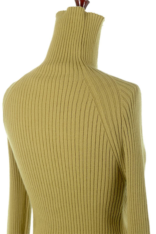 RibKnitTurtleNeckTopリブニット・タートルネック大人カジュアルに最適な海外ファッションのothers(その他インポートアイテム)のトップスやニット・セーター。重ね着に活躍するシンプル・リブタートルニットのトップス。やや長めの袖でクシュッと感が可愛いアイテムです。/main-16