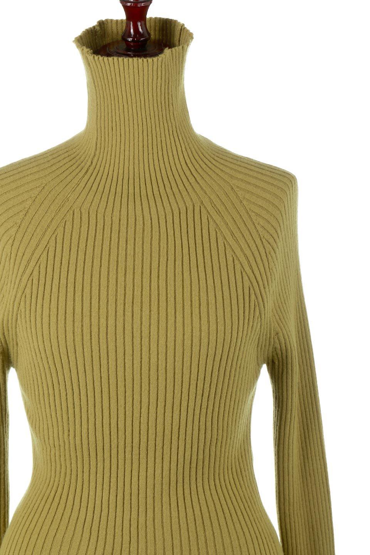 RibKnitTurtleNeckTopリブニット・タートルネック大人カジュアルに最適な海外ファッションのothers(その他インポートアイテム)のトップスやニット・セーター。重ね着に活躍するシンプル・リブタートルニットのトップス。やや長めの袖でクシュッと感が可愛いアイテムです。/main-17