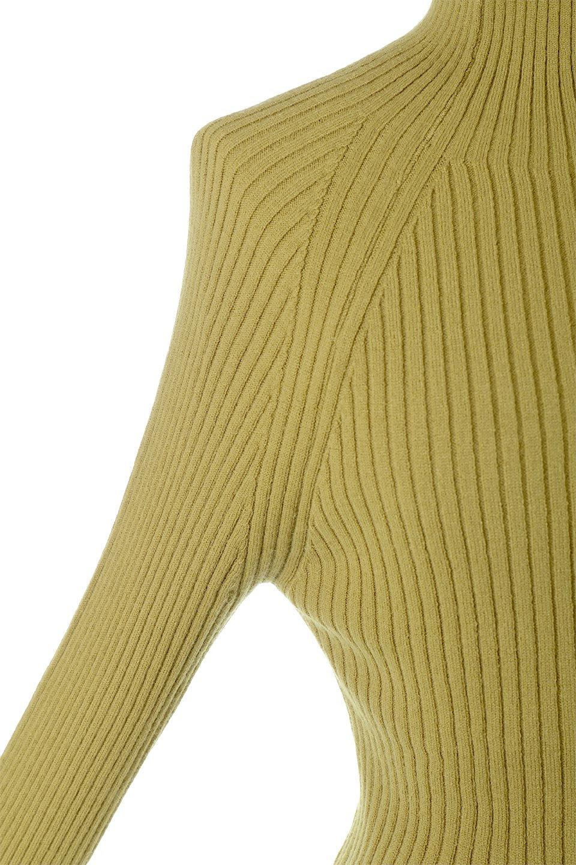 RibKnitTurtleNeckTopリブニット・タートルネック大人カジュアルに最適な海外ファッションのothers(その他インポートアイテム)のトップスやニット・セーター。重ね着に活躍するシンプル・リブタートルニットのトップス。やや長めの袖でクシュッと感が可愛いアイテムです。/main-19