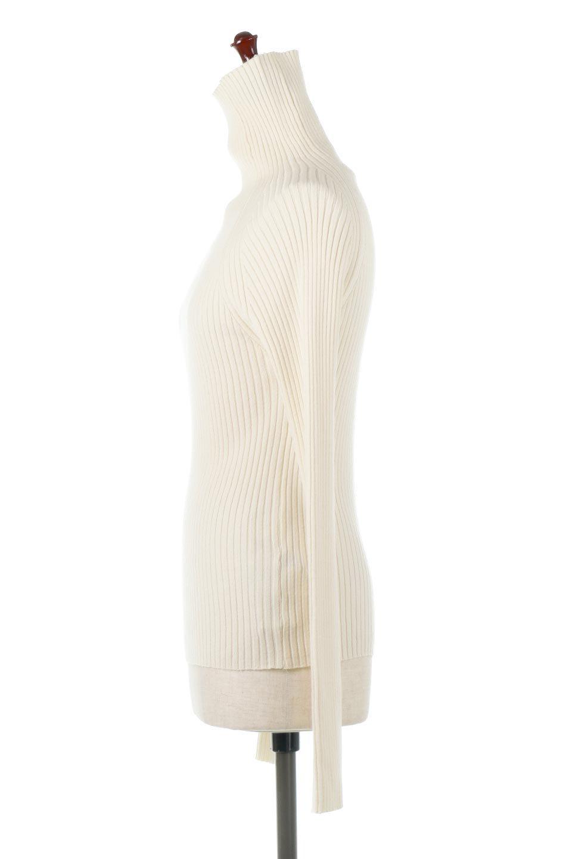 RibKnitTurtleNeckTopリブニット・タートルネック大人カジュアルに最適な海外ファッションのothers(その他インポートアイテム)のトップスやニット・セーター。重ね着に活躍するシンプル・リブタートルニットのトップス。やや長めの袖でクシュッと感が可愛いアイテムです。/main-7