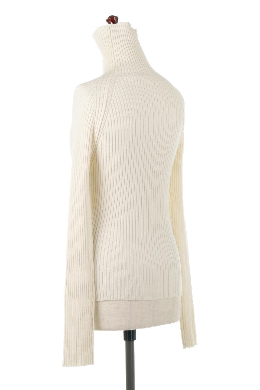 RibKnitTurtleNeckTopリブニット・タートルネック大人カジュアルに最適な海外ファッションのothers(その他インポートアイテム)のトップスやニット・セーター。重ね着に活躍するシンプル・リブタートルニットのトップス。やや長めの袖でクシュッと感が可愛いアイテムです。/main-8