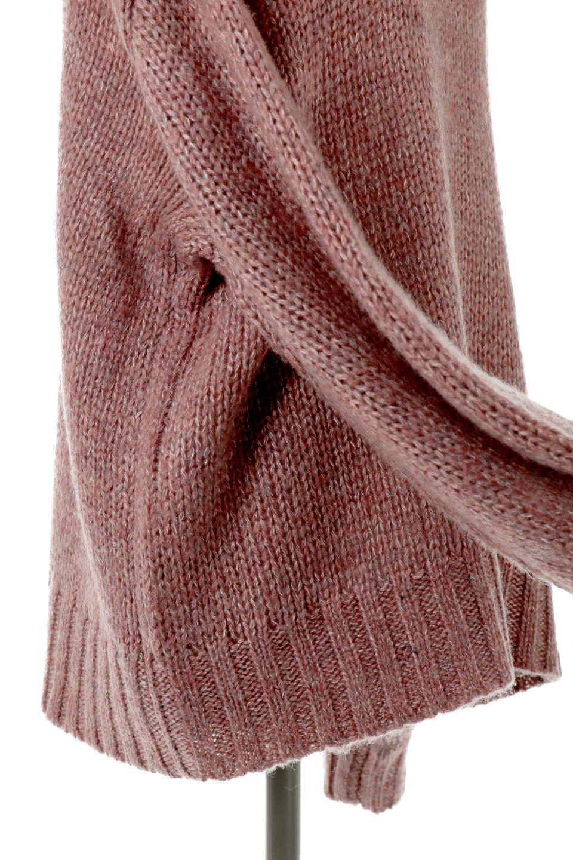 FauxMohairKnitPullOverTopモヘアタッチ・ニットプルオーバー大人カジュアルに最適な海外ファッションのothers(その他インポートアイテム)のトップスやニット・セーター。モヘアのような優しい触り心地のセーター。首元、袖口にはボリュームのあるリブニットデザインで温かみを感じるデザイン。/main-15