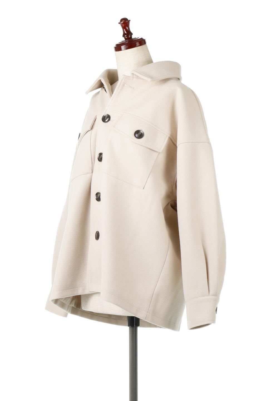 EcoWoolOversizedShirtJacketフェイクウール・オーバーサイズシャツジャケット大人カジュアルに最適な海外ファッションのothers(その他インポートアイテム)のアウターやコート。3シーズン着回せるあると便利なオーバーサイズシャツジャケット。ウォーム感のあるしっかりとした素材感で、カラーバリエーションも豊富。/main-1