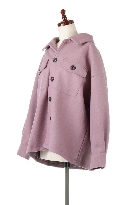 EcoWoolOversizedShirtJacketフェイクウール・オーバーサイズシャツジャケット大人カジュアルに最適な海外ファッションのothers(その他インポートアイテム)のアウターやコート。3シーズン着回せるあると便利なオーバーサイズシャツジャケット。ウォーム感のあるしっかりとした素材感で、カラーバリエーションも豊富。/main-11