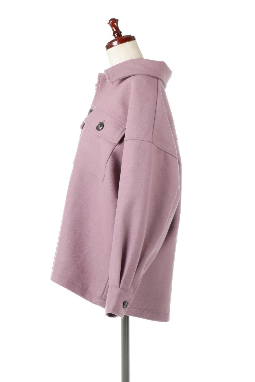EcoWoolOversizedShirtJacketフェイクウール・オーバーサイズシャツジャケット大人カジュアルに最適な海外ファッションのothers(その他インポートアイテム)のアウターやコート。3シーズン着回せるあると便利なオーバーサイズシャツジャケット。ウォーム感のあるしっかりとした素材感で、カラーバリエーションも豊富。/main-12