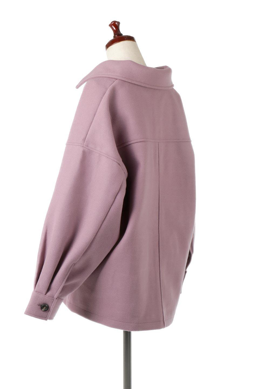 EcoWoolOversizedShirtJacketフェイクウール・オーバーサイズシャツジャケット大人カジュアルに最適な海外ファッションのothers(その他インポートアイテム)のアウターやコート。3シーズン着回せるあると便利なオーバーサイズシャツジャケット。ウォーム感のあるしっかりとした素材感で、カラーバリエーションも豊富。/main-13