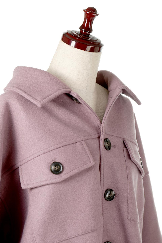 EcoWoolOversizedShirtJacketフェイクウール・オーバーサイズシャツジャケット大人カジュアルに最適な海外ファッションのothers(その他インポートアイテム)のアウターやコート。3シーズン着回せるあると便利なオーバーサイズシャツジャケット。ウォーム感のあるしっかりとした素材感で、カラーバリエーションも豊富。/main-16