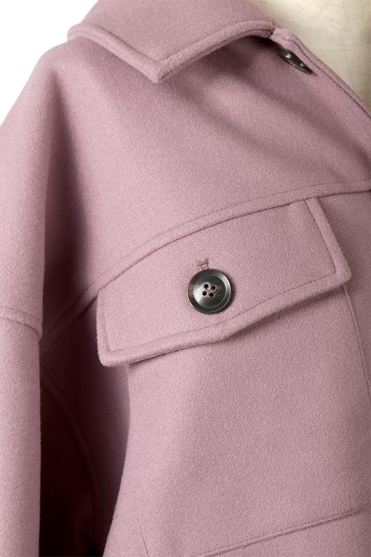 EcoWoolOversizedShirtJacketフェイクウール・オーバーサイズシャツジャケット大人カジュアルに最適な海外ファッションのothers(その他インポートアイテム)のアウターやコート。3シーズン着回せるあると便利なオーバーサイズシャツジャケット。ウォーム感のあるしっかりとした素材感で、カラーバリエーションも豊富。/main-18