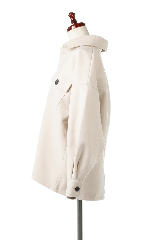 EcoWoolOversizedShirtJacketフェイクウール・オーバーサイズシャツジャケット大人カジュアルに最適な海外ファッションのothers(その他インポートアイテム)のアウターやコート。3シーズン着回せるあると便利なオーバーサイズシャツジャケット。ウォーム感のあるしっかりとした素材感で、カラーバリエーションも豊富。/main-2