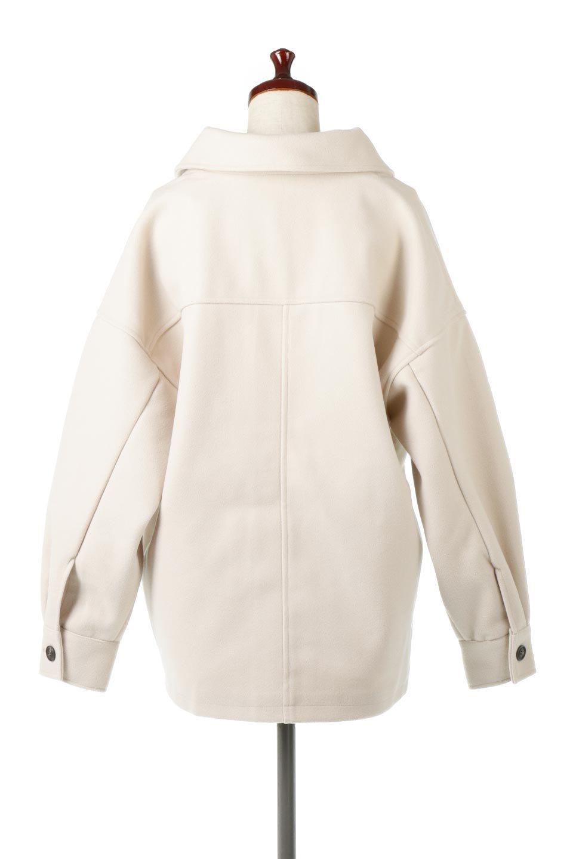 EcoWoolOversizedShirtJacketフェイクウール・オーバーサイズシャツジャケット大人カジュアルに最適な海外ファッションのothers(その他インポートアイテム)のアウターやコート。3シーズン着回せるあると便利なオーバーサイズシャツジャケット。ウォーム感のあるしっかりとした素材感で、カラーバリエーションも豊富。/main-4