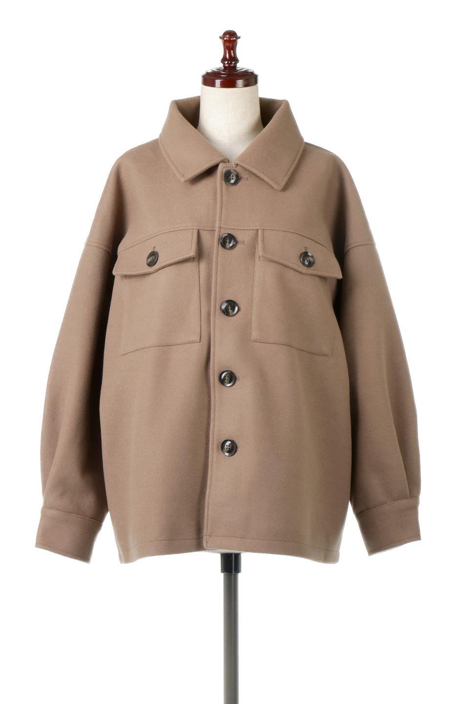 EcoWoolOversizedShirtJacketフェイクウール・オーバーサイズシャツジャケット大人カジュアルに最適な海外ファッションのothers(その他インポートアイテム)のアウターやコート。3シーズン着回せるあると便利なオーバーサイズシャツジャケット。ウォーム感のあるしっかりとした素材感で、カラーバリエーションも豊富。/main-5
