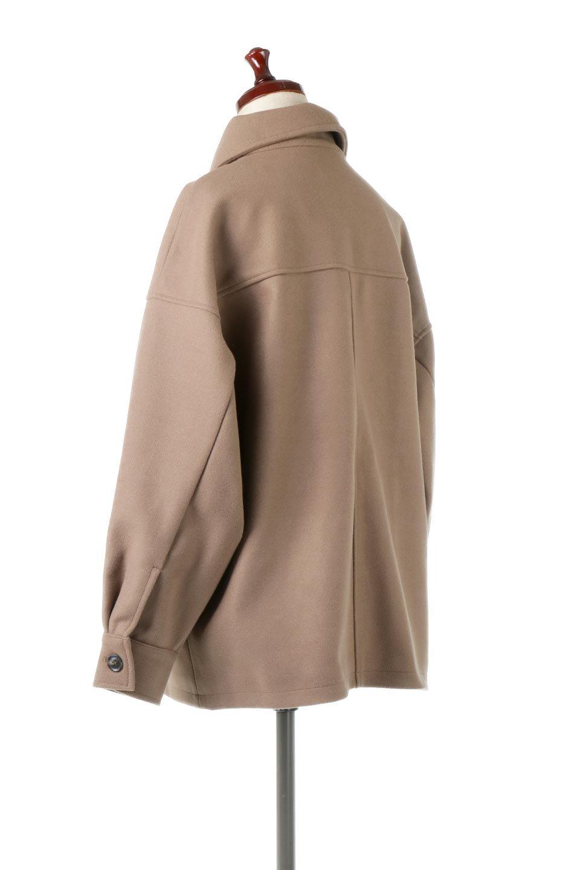 EcoWoolOversizedShirtJacketフェイクウール・オーバーサイズシャツジャケット大人カジュアルに最適な海外ファッションのothers(その他インポートアイテム)のアウターやコート。3シーズン着回せるあると便利なオーバーサイズシャツジャケット。ウォーム感のあるしっかりとした素材感で、カラーバリエーションも豊富。/main-8