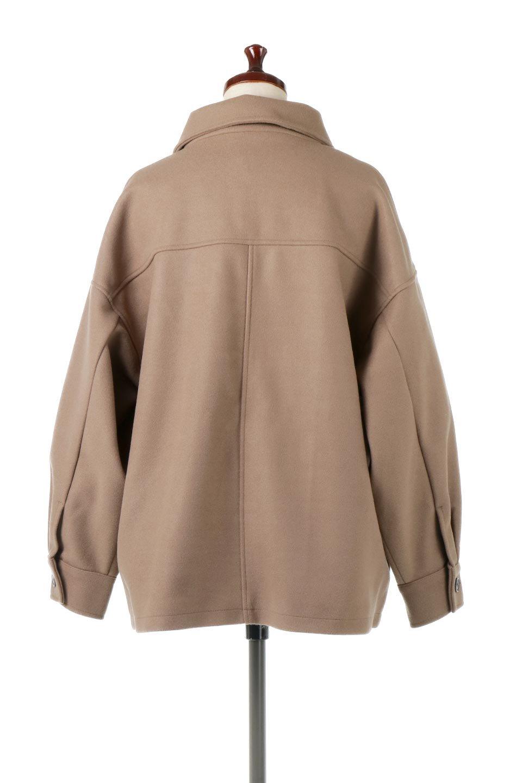 EcoWoolOversizedShirtJacketフェイクウール・オーバーサイズシャツジャケット大人カジュアルに最適な海外ファッションのothers(その他インポートアイテム)のアウターやコート。3シーズン着回せるあると便利なオーバーサイズシャツジャケット。ウォーム感のあるしっかりとした素材感で、カラーバリエーションも豊富。/main-9
