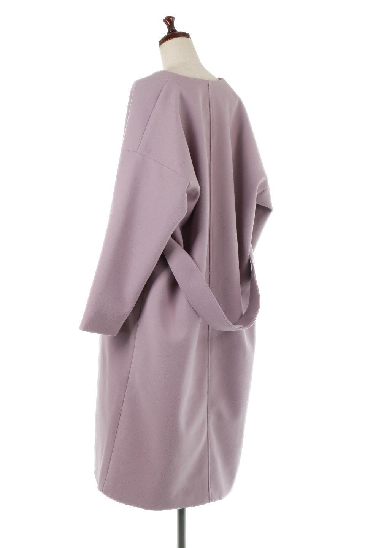 EcoWoolCollarlessLongCoatフェイクウール・ノーカラーコート大人カジュアルに最適な海外ファッションのothers(その他インポートアイテム)のアウターやコート。暖かみのあるフェイクウールを使用したノーカラーコート。カジュアル過ぎないノーカラーデザインが上品に魅せ、スッキリとしたシルエットで落ち着いた大人コーデには欠かせません。/main-13