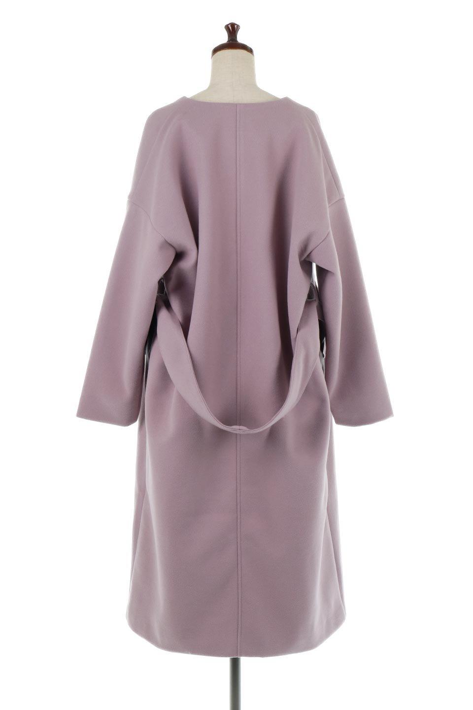 EcoWoolCollarlessLongCoatフェイクウール・ノーカラーコート大人カジュアルに最適な海外ファッションのothers(その他インポートアイテム)のアウターやコート。暖かみのあるフェイクウールを使用したノーカラーコート。カジュアル過ぎないノーカラーデザインが上品に魅せ、スッキリとしたシルエットで落ち着いた大人コーデには欠かせません。/main-14
