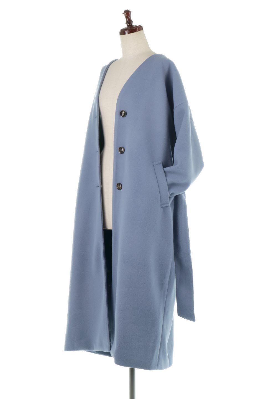 EcoWoolCollarlessLongCoatフェイクウール・ノーカラーコート大人カジュアルに最適な海外ファッションのothers(その他インポートアイテム)のアウターやコート。暖かみのあるフェイクウールを使用したノーカラーコート。カジュアル過ぎないノーカラーデザインが上品に魅せ、スッキリとしたシルエットで落ち着いた大人コーデには欠かせません。/main-16