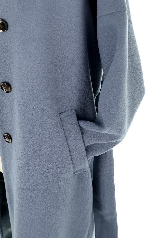 EcoWoolCollarlessLongCoatフェイクウール・ノーカラーコート大人カジュアルに最適な海外ファッションのothers(その他インポートアイテム)のアウターやコート。暖かみのあるフェイクウールを使用したノーカラーコート。カジュアル過ぎないノーカラーデザインが上品に魅せ、スッキリとしたシルエットで落ち着いた大人コーデには欠かせません。/main-24
