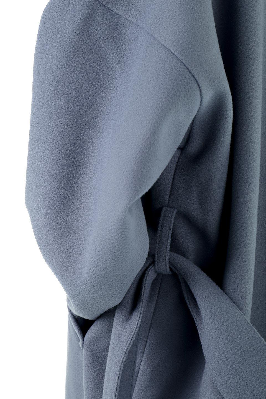 EcoWoolCollarlessLongCoatフェイクウール・ノーカラーコート大人カジュアルに最適な海外ファッションのothers(その他インポートアイテム)のアウターやコート。暖かみのあるフェイクウールを使用したノーカラーコート。カジュアル過ぎないノーカラーデザインが上品に魅せ、スッキリとしたシルエットで落ち着いた大人コーデには欠かせません。/main-25