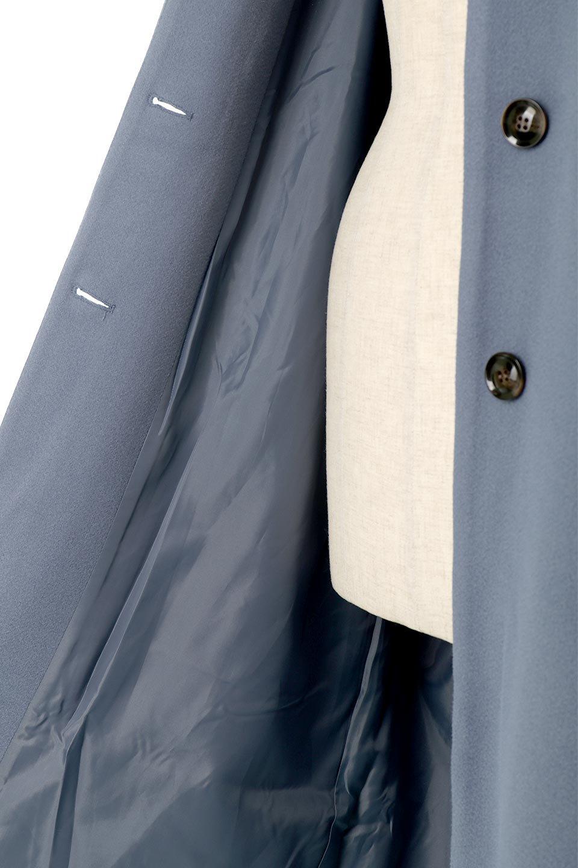 EcoWoolCollarlessLongCoatフェイクウール・ノーカラーコート大人カジュアルに最適な海外ファッションのothers(その他インポートアイテム)のアウターやコート。暖かみのあるフェイクウールを使用したノーカラーコート。カジュアル過ぎないノーカラーデザインが上品に魅せ、スッキリとしたシルエットで落ち着いた大人コーデには欠かせません。/main-26