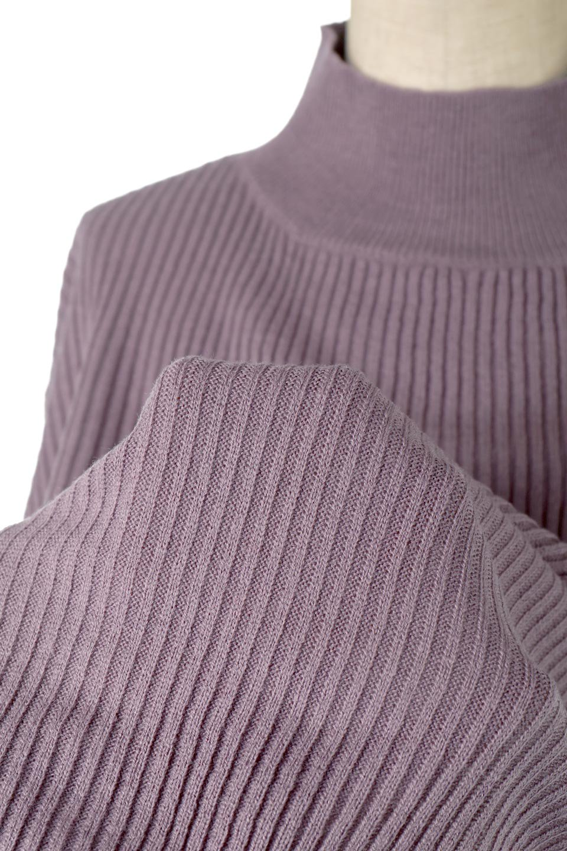 ButtonSleeveSideSlitTopボタンスリーブ・リブニットトップ大人カジュアルに最適な海外ファッションのothers(その他インポートアイテム)のトップスやカットソー。大きめボタンの袖が可愛いリブニットのハイネックトップス。厚すぎない生地感で春にも活躍するアイテムです。/main-31