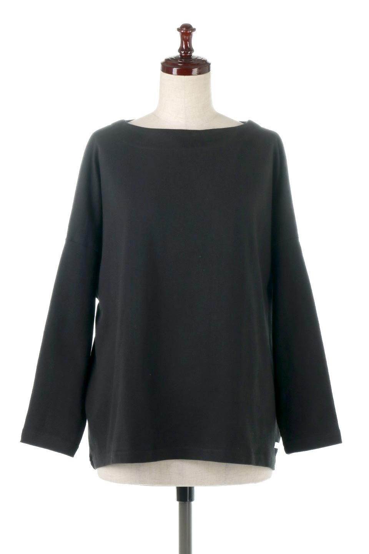 CottonSweatBoxSilhouetteTopボックスシルエット・長袖スウェット大人カジュアルに最適な海外ファッションのothers(その他インポートアイテム)のトップスやカットソー。肉厚なコットン100%の生地を使ったボックスシルエットのカットソー。ワイドなシルエットながら短めの丈ですっきりとした印象になります。/main-15